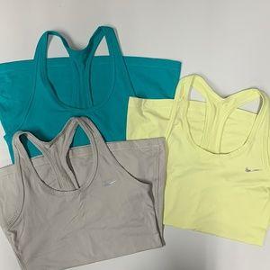 Nike Women's Workout Tanks 3pcs Size Small